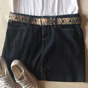 Banana Republic Premium Denim Stretch Jean Skirt